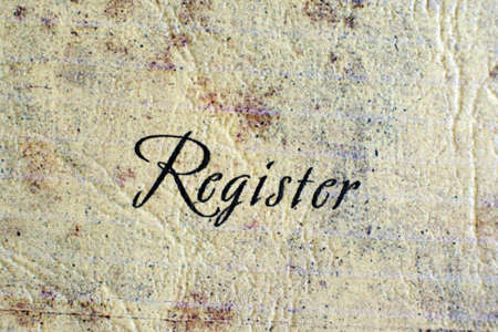 Register Stock Photo - 12555581