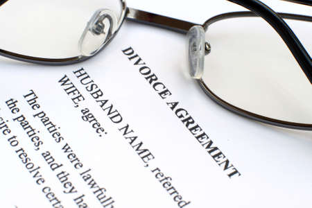 Divorce agreement Editorial
