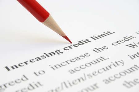 Increasing credit limit photo