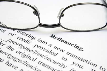 refinancing: Refinancing