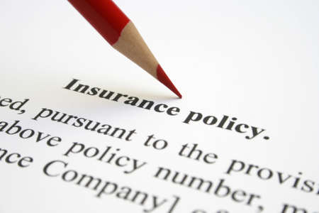 Insurance policy Stock Photo - 12558692
