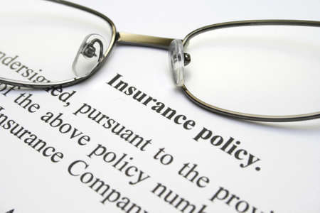 Insurance policy Stock Photo - 12558671