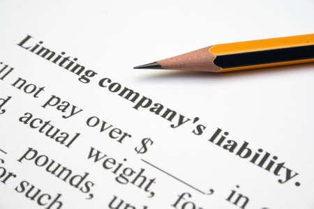 to incorporate: Company liability