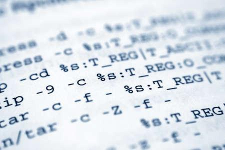 programing: Programaci�n Foto de archivo