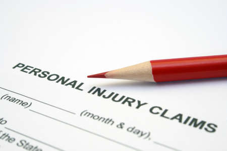 accident at work: Personal injury claim
