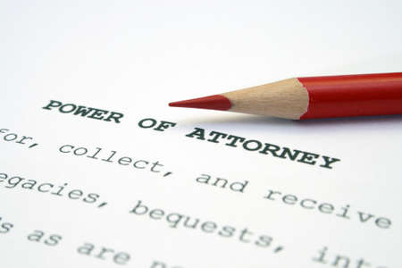 notary: Power of attorney