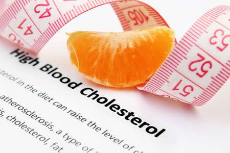 angina: Hohe Cholesterinspiegel im Blut