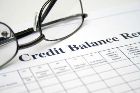 Credit balance report photo