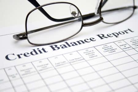 creditworthiness: Credit balance report