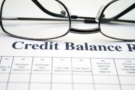 Credit balance report photo