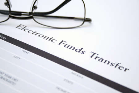 Electronic funds transfer Stock Photo - 12984001