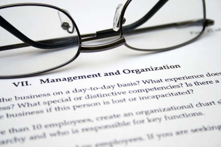 Management and organization Stock Photo - 13014133