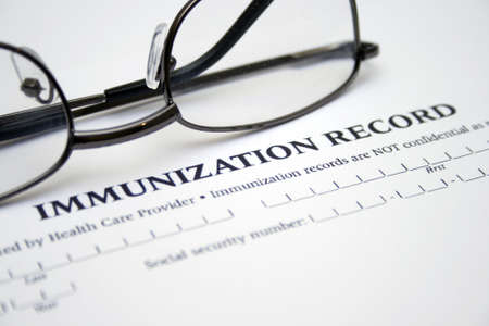 inoculate: Immunization record