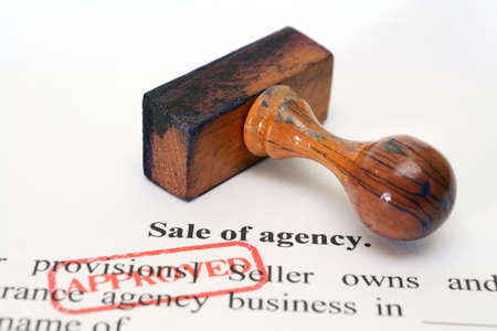 Sale of agency form photo