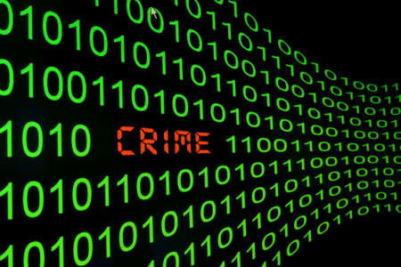 Web crime Stock Photo - 13454597
