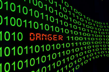 Web danger Stock Photo - 13454588