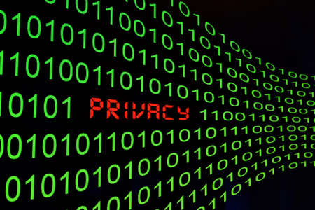 Privacy cocnept Stock Photo - 13576501
