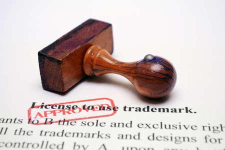 reserved sign: Trademark license