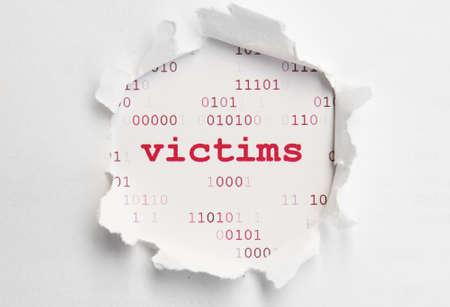 Web victims photo