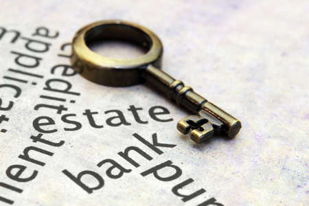 Estate and loan concept Stock Photo - 13773457