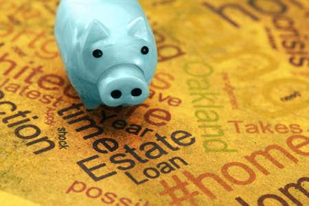 repo: Estate and loan concept Stock Photo