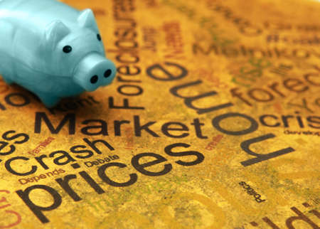 swaps: Market crash Stock Photo