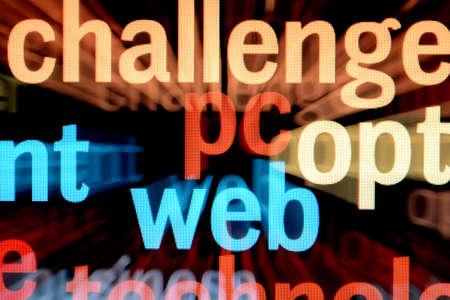 Web - monitor screen photo