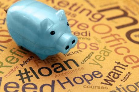 Loan concept photo