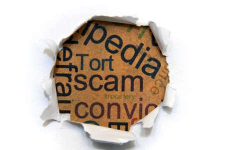 Scam concept Stock Photo - 14068888