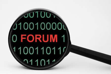 Web forum photo