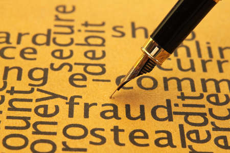 Fraud concept Stock Photo - 14229369