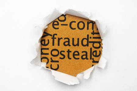 Fraud concept Stock Photo - 14229352