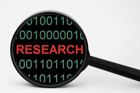 Web research Stock Photo - 14229233