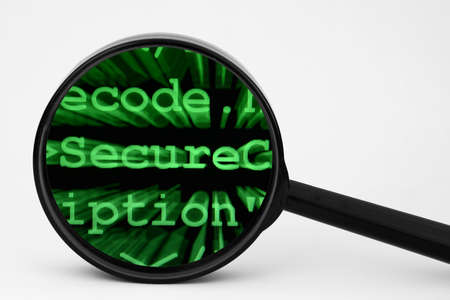 Secure code Stock Photo - 14229238