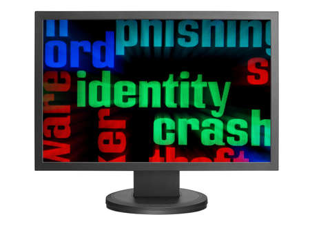 Web identity concept Stock Photo - 14388863