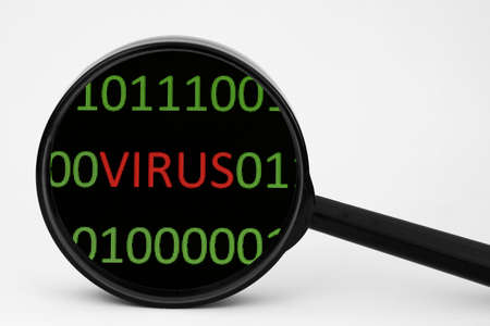 Virus concept Stock Photo - 14388851