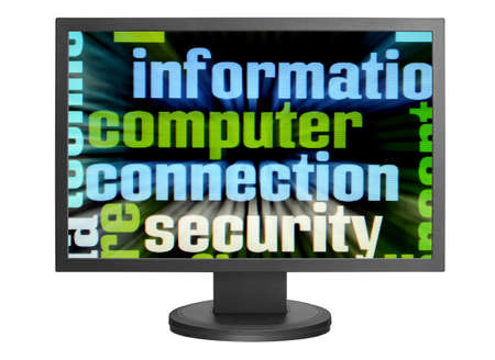 Computer connection security Stock Photo - 14555387