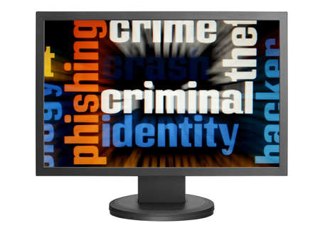 Web criminal Stock Photo - 14555382