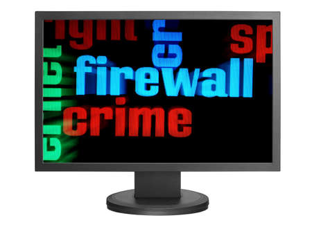 Web crime concept Stock Photo - 14555373