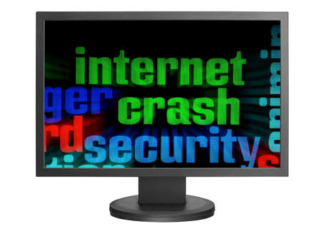 Internet security concept Stock Photo - 14555388