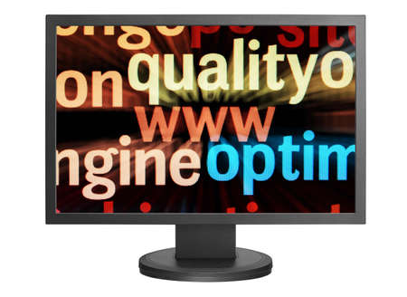 Monitor screen Stock Photo - 14555390
