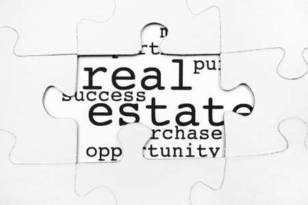 Real estate puzzle photo
