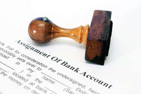 bankkonto: Zuordnung der Bankverbindung