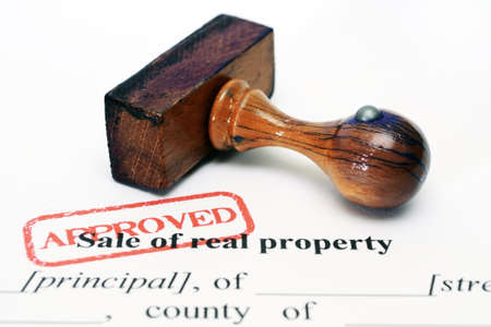 title hands: Sale of real property form