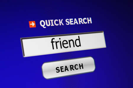 Search for friend Stock Photo - 15286450
