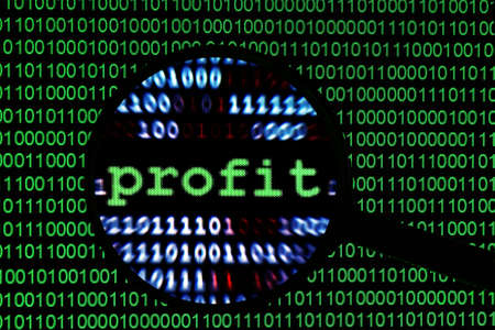 accumulation: Web profit concept Stock Photo