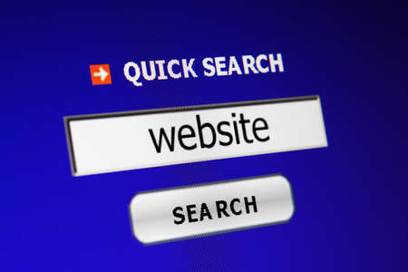Search for website Stock Photo - 15286449