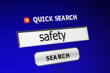 Search for safety Stock Photo - 15473536