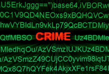 Crime concept Stock Photo - 15604534