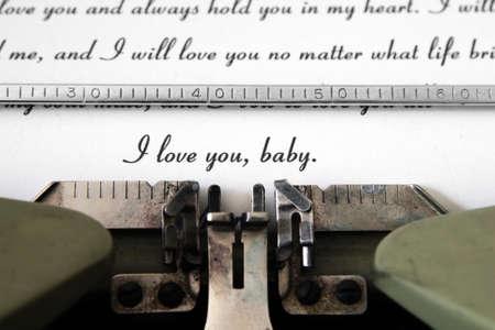 Love letter Stock Photo - 15604532